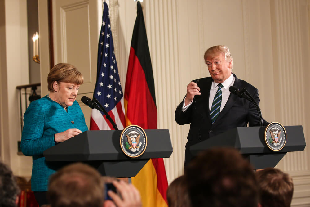 Trump Eviscerates Merkel; Says Germany 'Controlled' By Russia