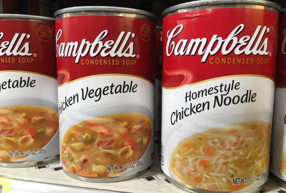 Campbell Stock's Dividend: A Pantry and Portfolio Staple