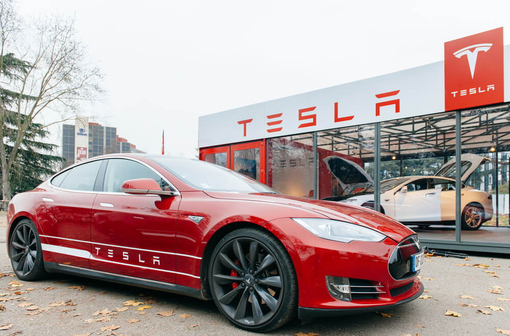 Tesla Shares Soar After CEO Tweets He Might Take Company Private
