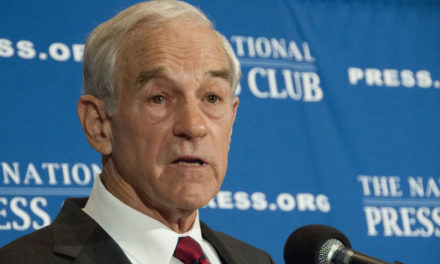 Ron Paul: Forget the Russians, the Fed Is Meddling in Our Elections Ron-Paul-Trump-Fed-440x264