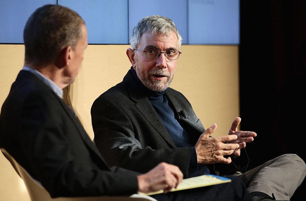 Paul Krugman: 'Real Amnesia' Around Financial Crisis, Next 'Will Be Worse'