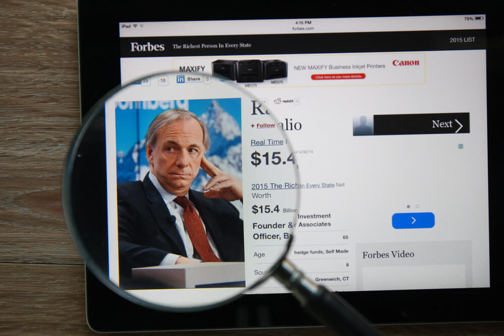 Dalio Warns: Global Economy in 'Great Sag' Central Banks Can't Fix