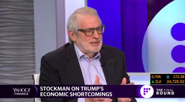 David Stockman Blasts Trump as 'Total Economic Ignoramus'