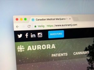 Aurora Cannabis Cowen Aurora Cannabis CEO Terry Booth resigns