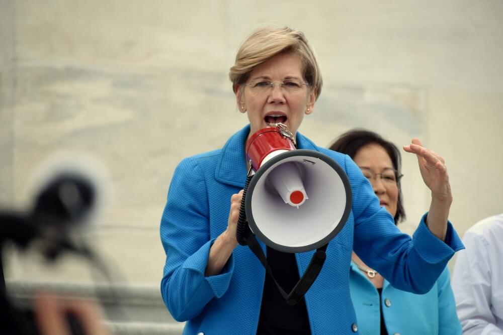 Elizabeth Warren Pushing to Break Up Big Tech Like Amazon, Facebook