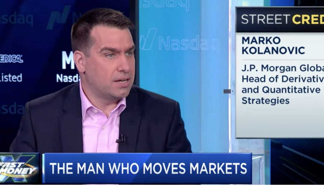 Kolanovic: Defensive, Tech Stock Bubbles About to Bust. Get Out Now