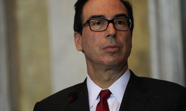 Treasury Secretary Mnuchin Says Relief Checks Arriving in 3 Weeks