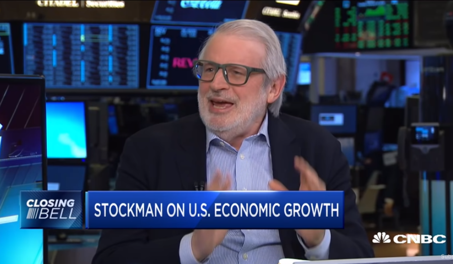 David Stockman: Rally Is 'Day Traders, Chart Monkeys,' 40% Crash Coming
