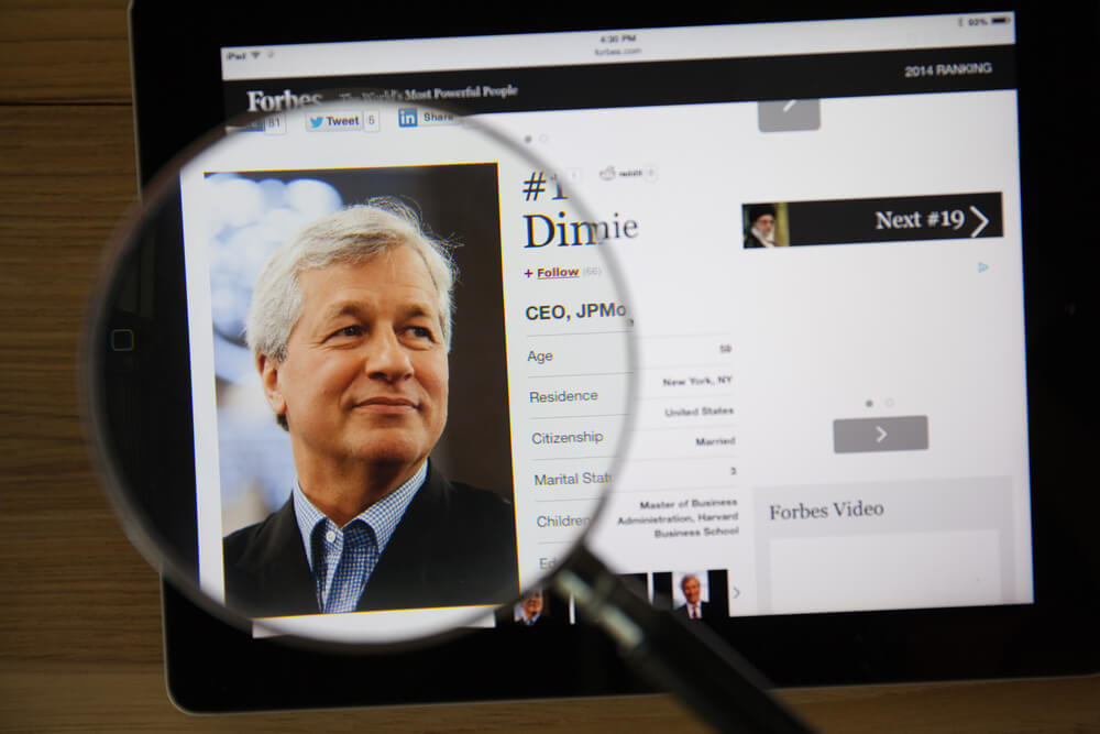 Dimon: Negative Rates, Trade War Could Slam Economy