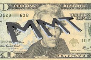 MMT negative interest rates helicopter money gold soars