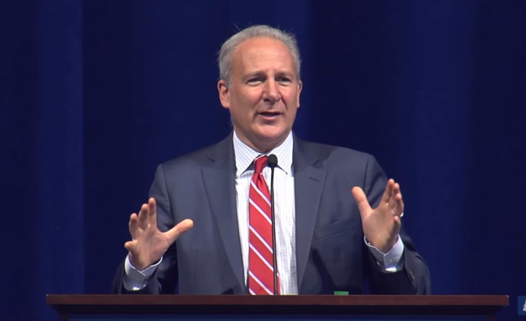 Peter Schiff: The Economy Is a Bubble, Coronavirus Is the Pin