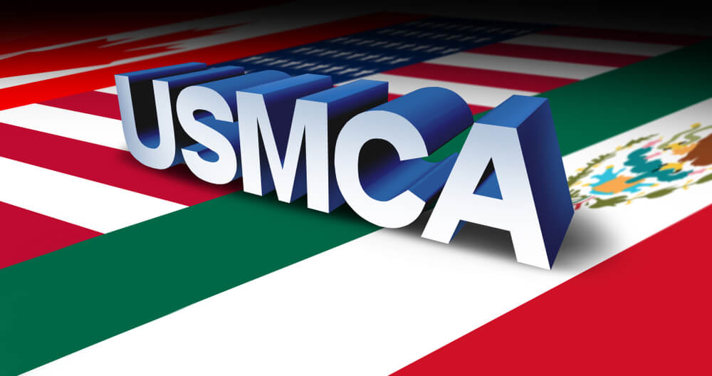 Senate Passes USMCA as Trump Impeachment Trial Begins