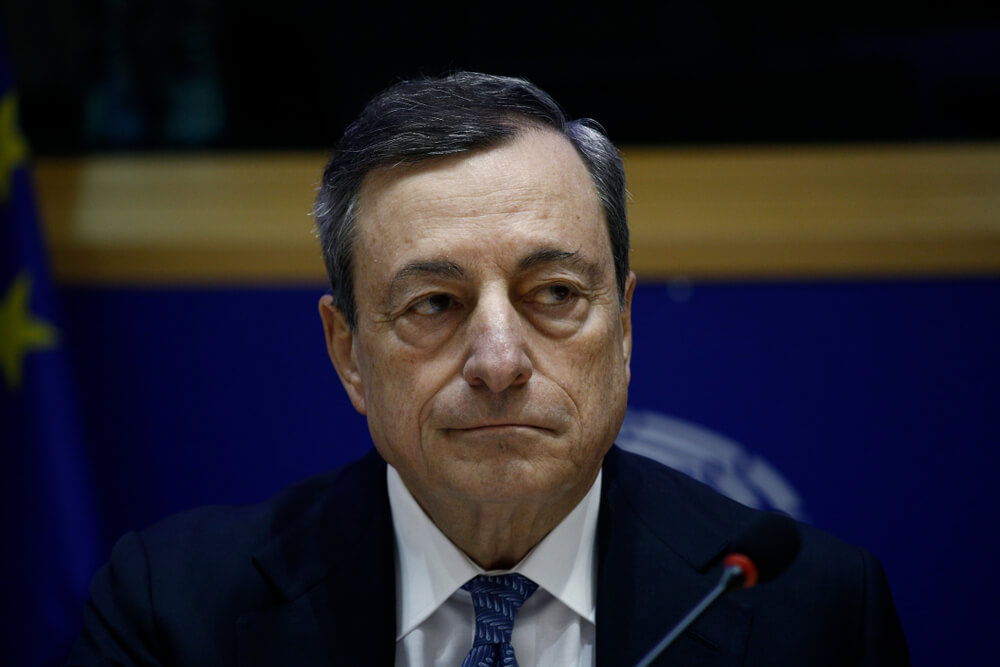 Critics Bash Draghi's Stimulus Package as He Exits ECB; EU Rates Unchanged