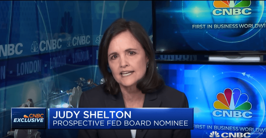 Fed Nominee Judy Shelton Grilled by Senate Skeptics Over Past Views