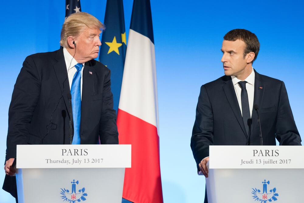French Wine vs US Tech Prowess: New Trump-Macron Standoff