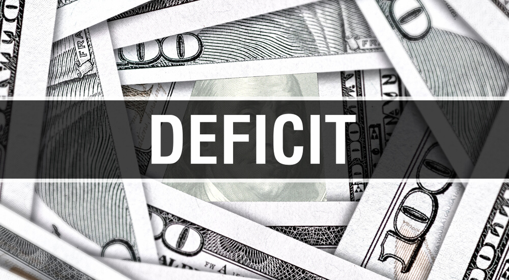 'Unsustainable' Budget Deficit Swells 34% in October, Should Top $1T in 2020