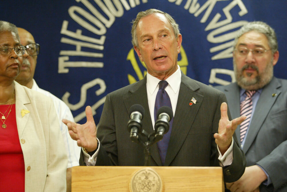 Bloomberg Plans Bigger Social Security Payouts, Funding Fix