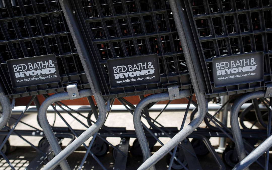 Weak Sales Drive Bed Bath & Beyond Stock Into the Toilet