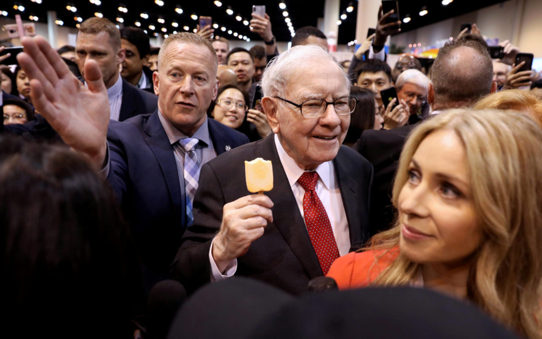 Buffett: Berkshire 'Certainly Won't Be Selling Stocks' Over Coronavirus
