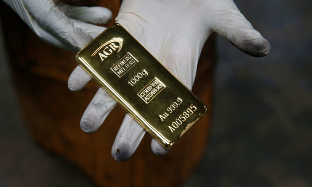Luongo: Negative Yields Come to the U.S. Because Gold is AWOL