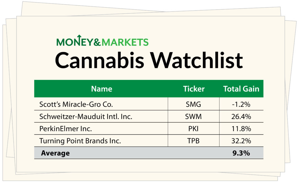 cannabis watchlist stocks