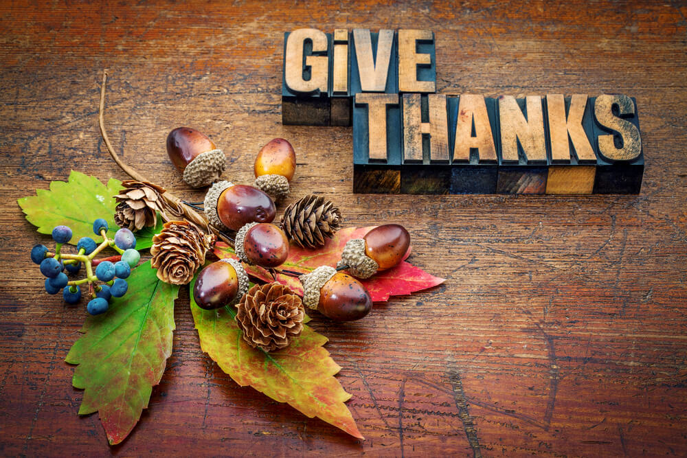 We at Money & Markets Are Thankful for…