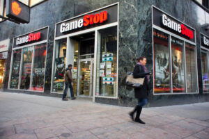 short selling GameStop stock