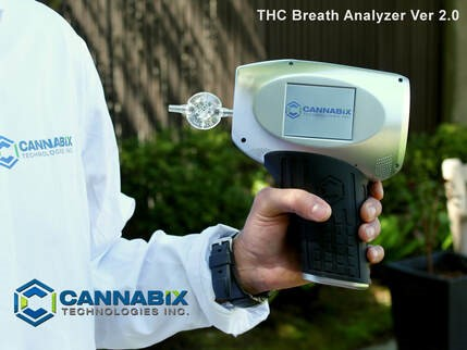 Cannabix THC breathalyzer