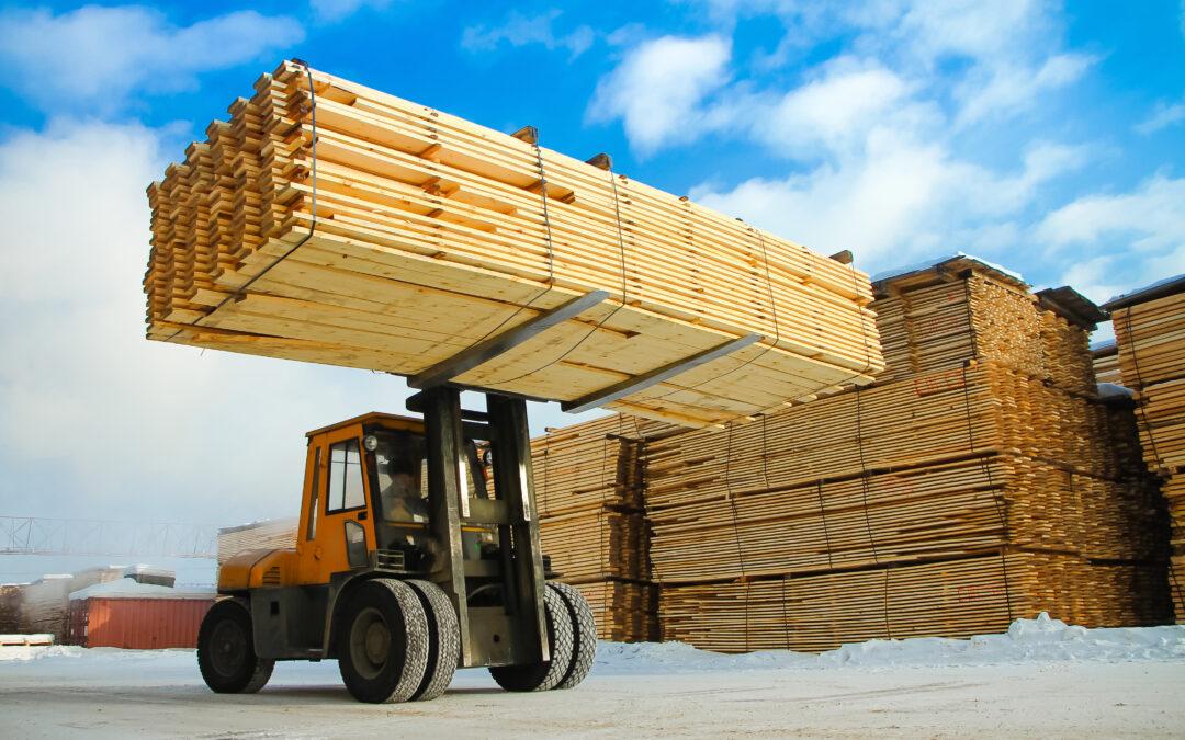 Lumber Market Heralds Inflation's Arrival