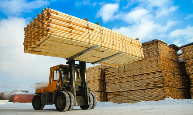 Lumber Market Heralds Inflation's Arrival