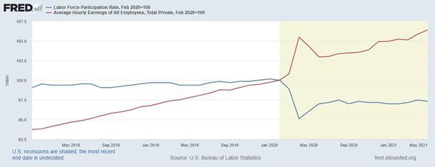labor force participation plummet