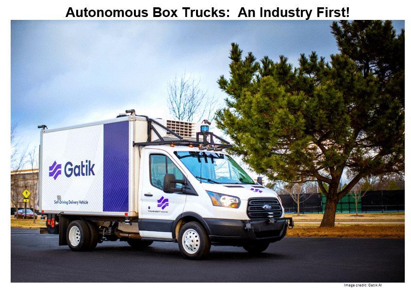 Gatik automated truck